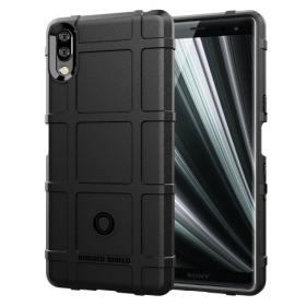 Taltech Sony Xperia L3 Rugged Square Grid cover - Teknikdele.dk