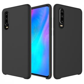 SiGN SiGN Huawei P30 Liquid Silicone cover - Sort - Teknikdele.dk