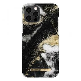 iDeal of Sweden IDeal Of Sweden Fashion iPhone 12 Pro Max Cover- Black Galaxy Marble - Teknikdele.dk