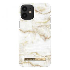 iDeal of Sweden IDeal Fashion iPhone 12 Mini cover- Golden Pearl Marble - Teknikdele.dk