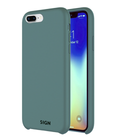 SiGN SiGN Liquid Silicone iPhone 7 & 8 Plus- Mint cover - Teknikdele.dk