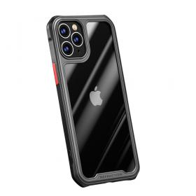 Taltech iPhone 12 Pro Max IPAKY Shock-Resistant cover - Sort - Teknikdele.dk