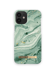 iDeal of Sweden IDeal Fashion iPhone 12 Mini cover - Mint Swirl Marble - Teknikdele.dk