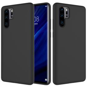 SiGN SiGN Huawei P30 Pro Liquid Silicone cover - Sort - Teknikdele.dk