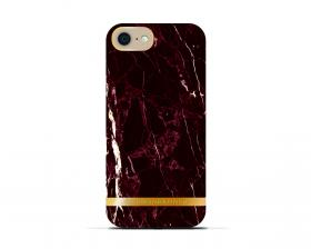 Richmond iPhone 6/6S - Marble Glossy Red cover fra Richmond - Teknikdele.dk