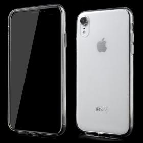Taltech Transparent Crystal clear iPhone XR cover - Teknikdele.dk