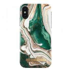 iDeal of Sweden IDeal Fashion Iphone X-XS- Golden Jade Marble cover - Teknikdele.dk