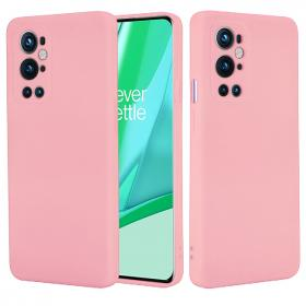 SiGN SiGN OnePlus 9 Pro Liquid Silicone cover - Pink - Teknikdele.dk