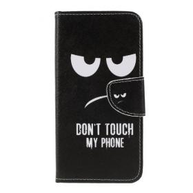 Taltech Samsung Galaxy A50 Don't Touch My Phone tegnebogsetui - Teknikdele.dk