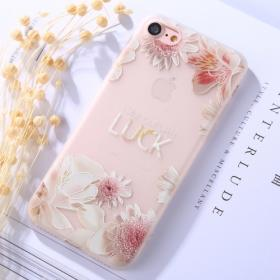 """Taltech IPhone 7, 8 """"Make your own luck"""" cover - Teknikdele.dk"""