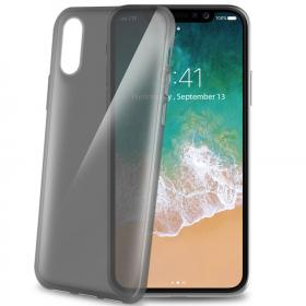 Celly Transparent, sort Celly Gelskin iPhone X-XS cover - Teknikdele.dk