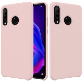 SiGN SiGN Huawei P30 Lite Liquid Silicone cover - Pink - Teknikdele.dk