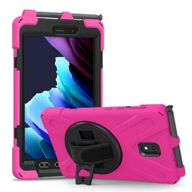 Taltech Cover 360° Galaxy Tab Active 3 - Pink - Teknikdele.dk
