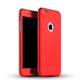 Taltech IPAKY Full Protection iPhone 6, 6S Plus- Red cover fra Taltech - Teknikdele.dk