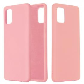 SiGN SiGN Samsung Galaxy A71 Liquid Silicone cover - Pink - Teknikdele.dk