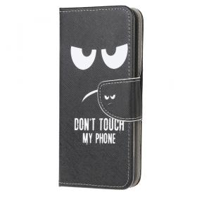 Taltech Samsung Galaxy Xcover 5 Smooth Wallet etui - Don't Touch - Teknikdele.dk