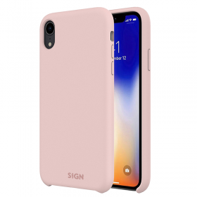 SiGN Pink SiGN Liquid Silicone iPhone X-XS cover - Teknikdele.dk