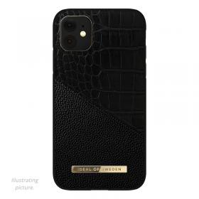 iDeal of Sweden IDeal Of Sweden Atelier iPhone 12 Pro Max Cover- Nightfall Croco - Teknikdele.dk