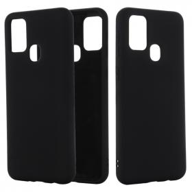 SiGN SiGN Samsung Galaxy A21s Liquid Silicone cover - Sort - Teknikdele.dk