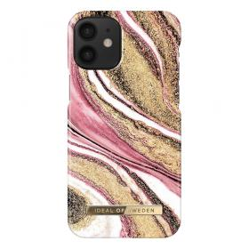 iDeal of Sweden iDeal Fashion iPhone 12 Mini cover- Cosmic Pink Swirl - Teknikdele.dk