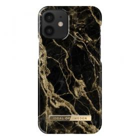 iDeal of Sweden IDeal Fashion iPhone 12 Mini cover- Golden Smoke Marble - Teknikdele.dk