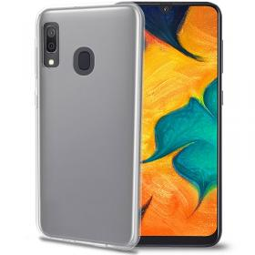 Celly Samsung Galaxy A40 Gelskin cover fra Celly - Teknikdele.dk