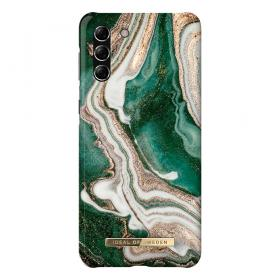 iDeal of Sweden iDeal Fashion Samsung Galaxy S21 Plus cover- Golden Jade Marble - Teknikdele.dk
